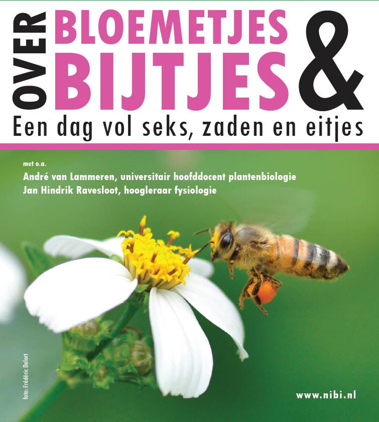 Flyer onderwijsconferentie Over Bloemetjes en Bijtjes